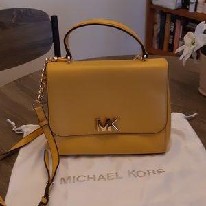Michael Kors Yellow Shoulder Bag